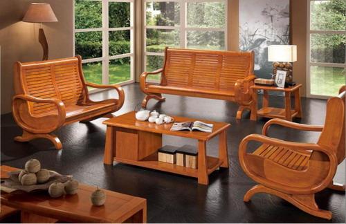 Model baru minimalis kursi ruang tamu dari kayu jati
