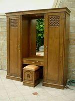 almari pakaian meja rias 2 pintu