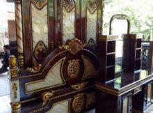 kamar set  mahkota marmer