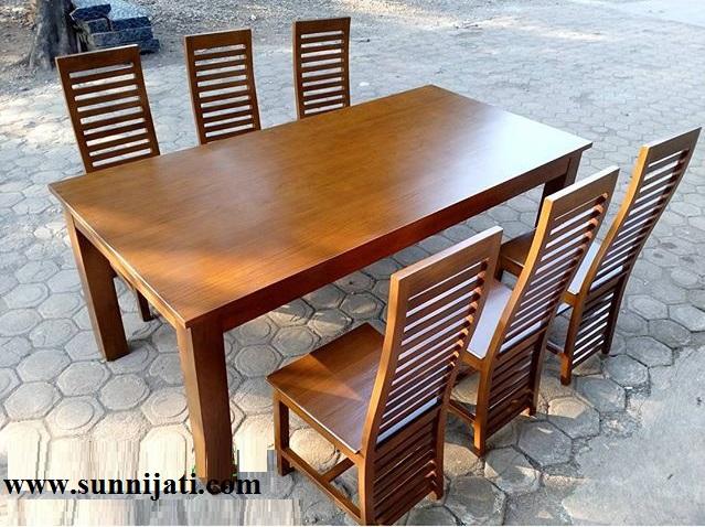 kursi makan minimalis salur