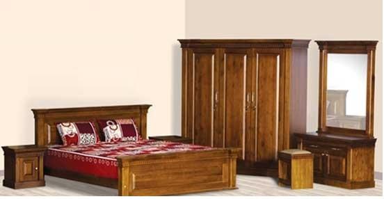 kamar set minimalis polos