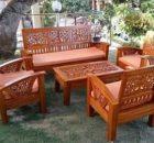 kursi tamu flamboyan bambu
