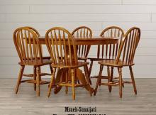 set meja kursi makan klasik